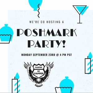 Co Hosting a PoshMark Party Sept. 23, @ 4 PST